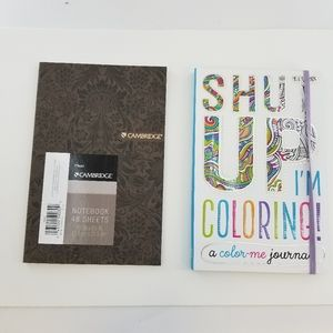 Other - Journals Brown plain and Coloring Journal